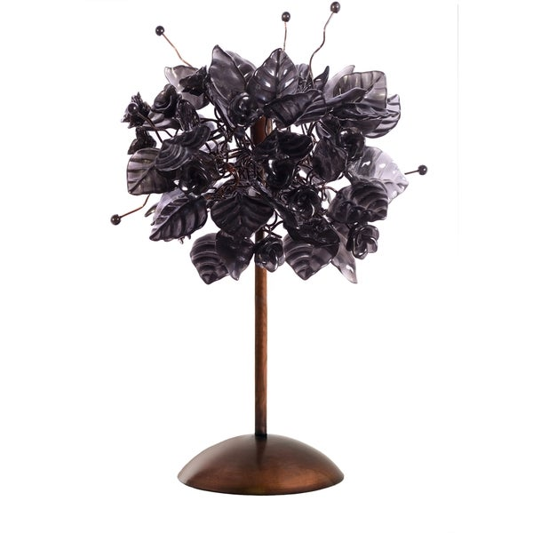Black Raven Table Lamp