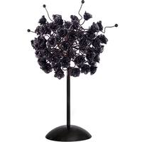 Black Rosettes Table Lamp