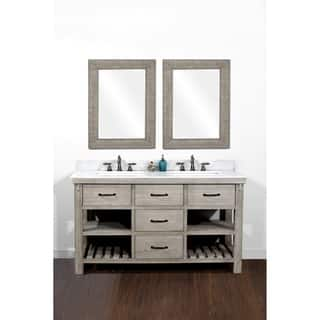 bathroom cabinets double sink. Rustic Style 60 Inch Double Sink Bathroom Vanity Size Vanities  Cabinets For Less