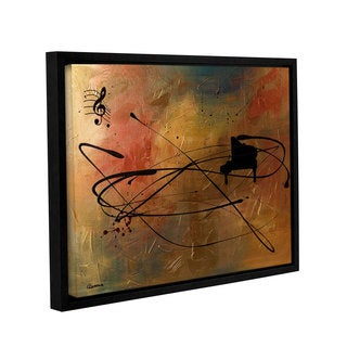 Carmen Guedez's Solo Piano, Gallery Wrapped Floater-framed Canvas