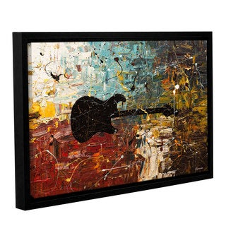 Carmen Guedez's Guitar Story, Gallery Wrapped Floater-framed Canvas