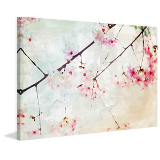 Marmont Hill - Pink Spring I by Irena Orlov Painting Print on Canvas