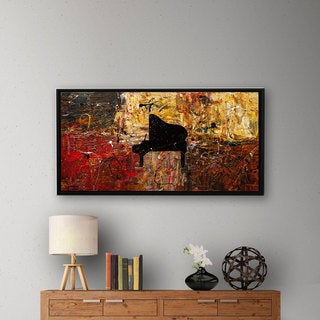 Carmen Guedez's The Grand Finale, Gallery Wrapped Floater-framed Canvas