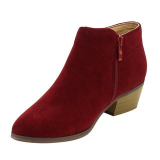 Reneeze BEAUTY-03 Women's Side Zipper Ankle Booties