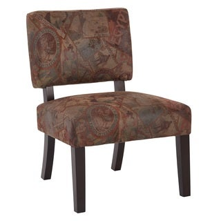 Jasmine Accent Chair with Solid Wood Legs