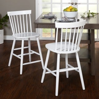 Simple Living 24-inch Venice Counter Stools (Set of 2)