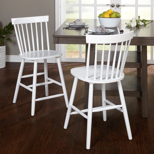 Shop Simple Living 24 Inch Venice Counter Stools Set Of 2