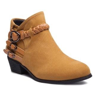 Link to Ann Creek Women's 'Joselyn' Woven Strap Booties Similar Items in Women's Shoes