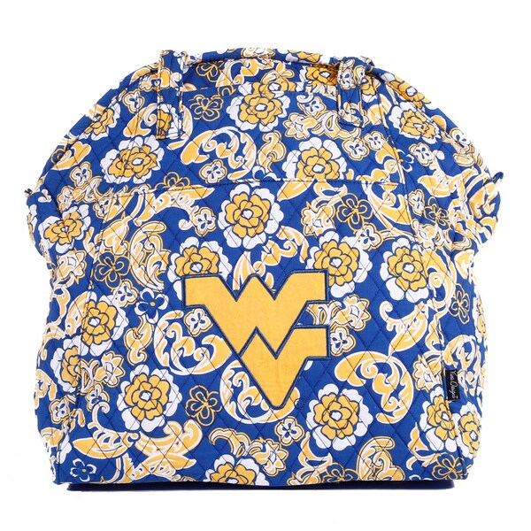 K-Sports West Virginia Mountaineers Yoga Bag - Blue