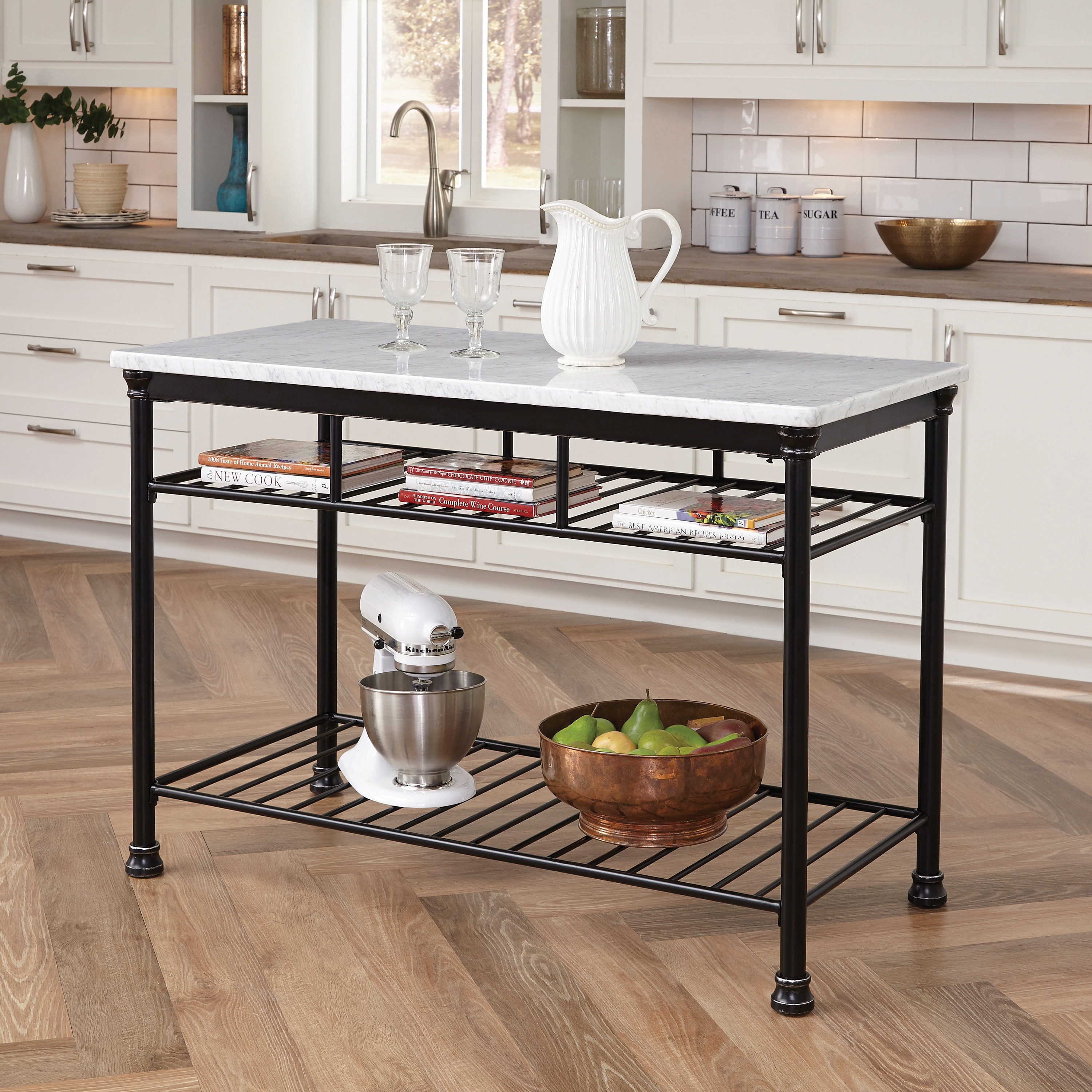 The Gray Barn Cranberry Field Kitchen Island