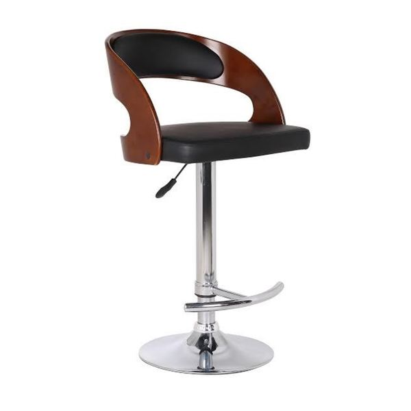 Wood and Black Faux Leather Adjustable Swivel Bar Stool  : Wood and Black Faux Leather Adjustable Swivel Bar Stool c95fcc98 a268 4622 babc 59c253929192600 from www.overstock.com size 600 x 600 jpeg 10kB