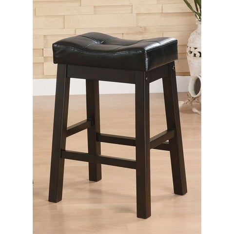 The Curated Nomad Del Sur Dark Cherry Counter-height Stool (Set of 2)