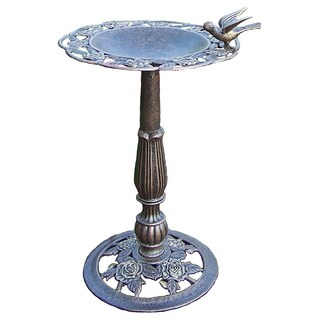 Premium Rose Bird Bath
