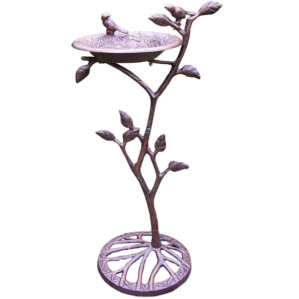 Premium Meadow Bird Bath