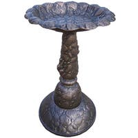 Premium Rock Bird Bath