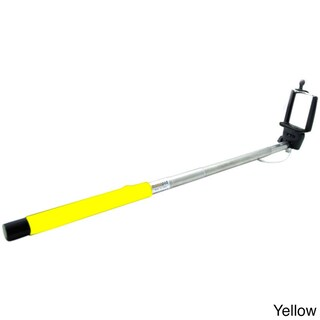 Expandable Selfie Stick with Bluetooth Remote Control (Option: Yellow)