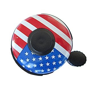 USA Flag Bike Bell