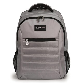"""Mobile Edge Carrying Case (Backpack) for 17"""" MacBook - Silver"""