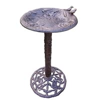 Premium Hummingbird Bird Bath