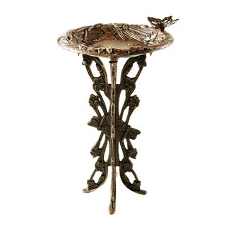 Premium Butterfly Dragonfly Bird Bath