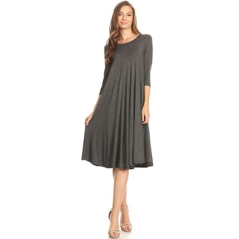 f373650b7 Buy Grey Casual Dresses Online at Overstock | Our Best Dresses Deals