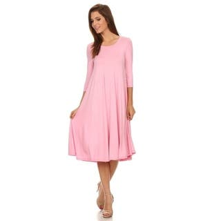 08f0304cd5 Buy Pink Casual Dresses Online at Overstock