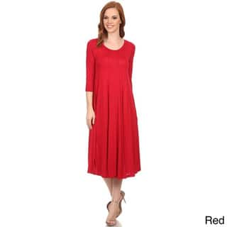 e9b0f94dc58d Buy Red Casual Dresses Online at Overstock