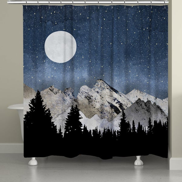 Laural Home Mountain Range Shower Curtain