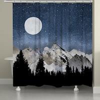 Laural Home Mountain Range Shower Curtain