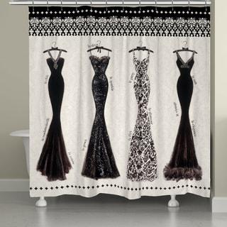 Laural Home Elegant Fashion 71 x 72-inch Shower Curtain
