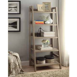 Linon Dublin Ladder Bookcase