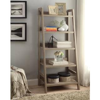 Linon Dublin Ladder Bookcase