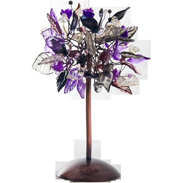 Violet Frost Table Lamp