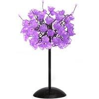 Lilac Rosettes Table Lamp