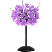 Lilac Rosettes Table Lamp