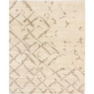 ecarpetgallery Royal Maroc Beige Wool Rug (8' x 9'10)