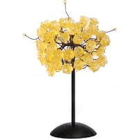 Citrus Gold Rosettes Table Lamp