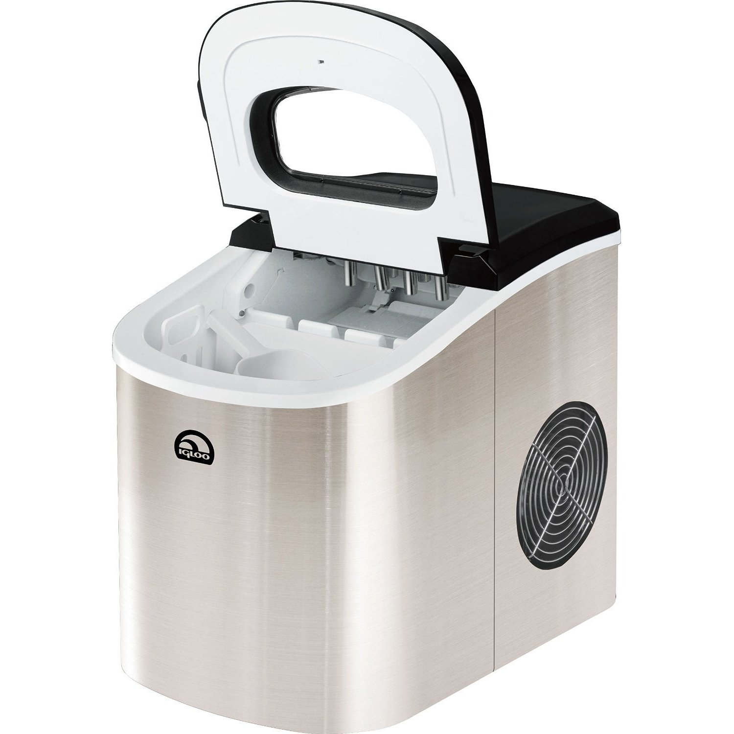 Igloo Ice102 Counter Top Ice Maker Silver Overstock 10992967