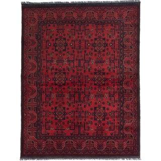 ecarpetgallery Finest Khal Mohammadi Red Wool Rug (5'1 x 6'8)