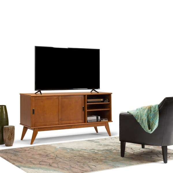 best authentic 2e8dc a171d Shop WYNDENHALL Tierney Solid Hardwood 60 inch Wide Mid ...