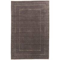 ecarpetgallery Kashkuli Gabbeh Grey Wool Rug (5' x 8')