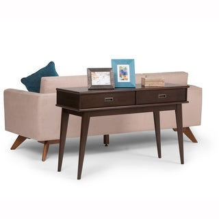 WYNDENHALL Tierney Mid-century Console Sofa Table