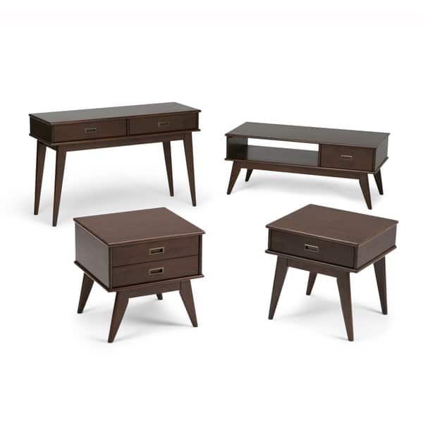 Terrific Shop Wyndenhall Tierney Solid Hardwood 48 Inch Wide Mid Creativecarmelina Interior Chair Design Creativecarmelinacom