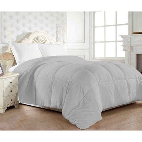 Elegant Comfort 1200 Thread Count Egyptian Cotton Down Alternative Double-filled Comforter