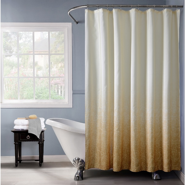Lace Ombre Shower Curtain