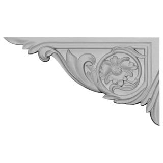 Rose Stair Brackets LEFT 4 Pieces