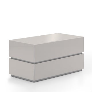 Potenza Rectangular Night Stand Low Table