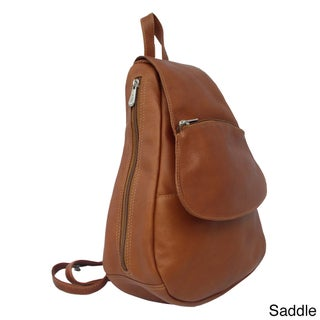 Piel Leather Flap-Over Sling Backpack (3 options available)