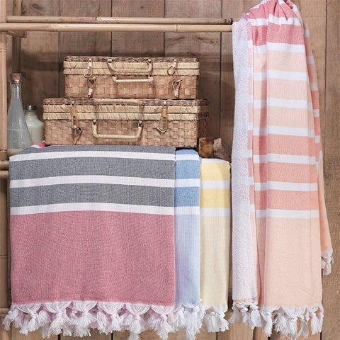 The Curated Nomad Merida Turkish Cotton Bath/ Beach Towel