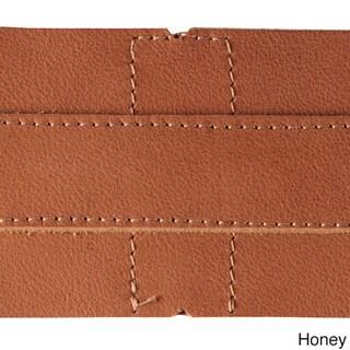 Piel Leather Convertible Buckle Backpack/Shoulder Bag